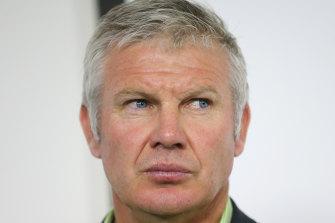 AFL identity Danny Frawley.