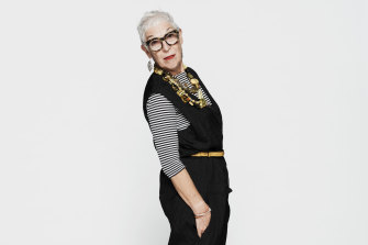 """Ronni Kahn: """"[My style] is based on things I love, nothing to do with fashion, just beautiful pieces well made."""""""