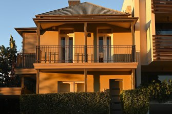 The home in Rozelle that was stopped from hitting the market at a bargain-basement price.