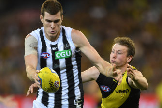 Collingwood and Richmond will meet in the season reopener.