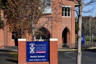 Boys' school Scotch College and girls' school PLC have reciprocal discounts.