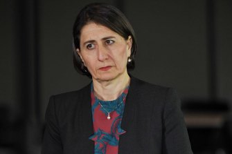 Premier Gladys Berejiklian announced a one-year freeze on public service pay rises on Wednesday.