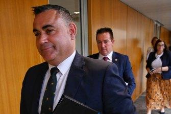 Deputy Premier John Barilaro has survived a motion of no confidence.