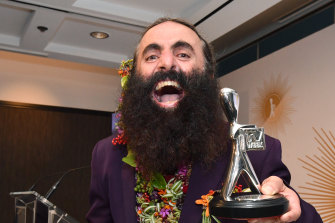 The ABC's Costa Georgiadis won the Logie  for the Most Popular Lifestyle Program for his show Gardening Australia.
