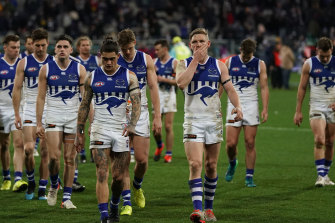 The disappointment was palpable as Jack Ziebell led his side from the field on Saturday.