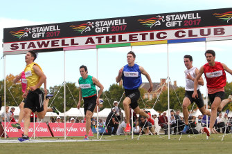 The future of the Stawell Gift is in doubt.