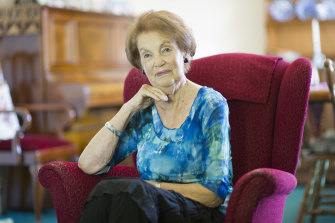 Former 'comfort woman' Jan Ruff-O'Herne.
