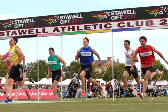 The Stawell Gift will not be run in 2020.