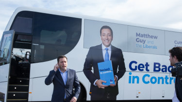 Opposition Leader Matthew Guy announced he would reinstate religious education.