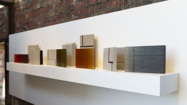 Lucy Palmer and Kirstie Rea, 'Untitled', 2018, glass and concrete.
