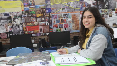 Templestowe College student Maya Pradham is among a growing number of young Victorians undertaking the unscored VCE