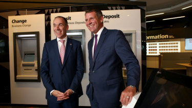 NAB chief of staff falsely used 'Project Eagle' Mike Baird as