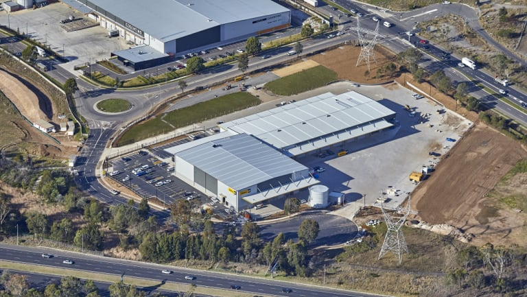 WesTrac has signed a 15 year lease at AMP Capital Crossroads Logistics Centre, Casula, Sydney