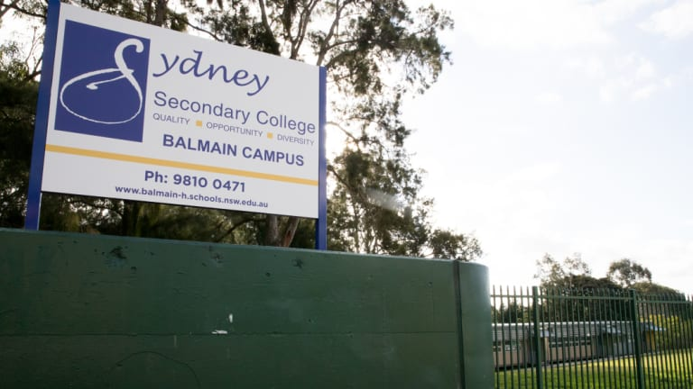 The anti-Semitic bullying took place at the Balmain campus of Sydney Secondary College.