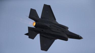An Israeli Air Force F-35 plane