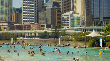 Queensland is experiencing unseasonably hot conditions for this time of year.