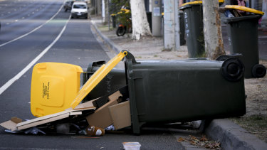 The recycling crisis in Victoria has spread to more councils.