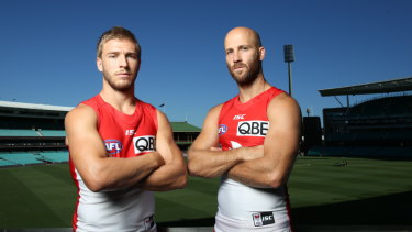 Former Swans co-captains Kieren Jack and Jarrad McVeigh will retire after Saturday's clash with St Kilda at the SCG.