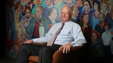 Roger Corbett will play a key role in Tony Abbott's Sydney electorate.