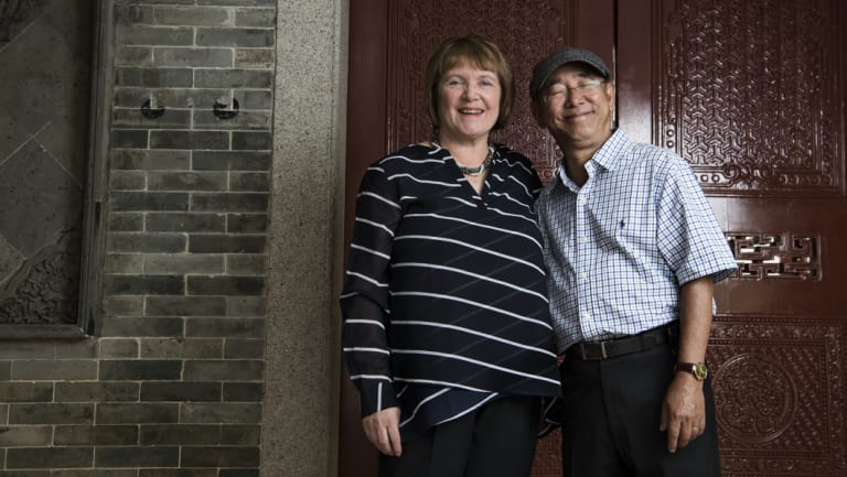 """Nadine Taylor and Tien Nguyen, who left Vietnam: """"It was heart-breaking, I could only see the open ocean, tears came down, 'Goodbye my country, never see you again.'"""""""
