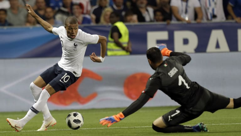 Moneybags: French forward Kylian Mbappe's transfer to Paris Saint-Garmain is worth $279 million alone.