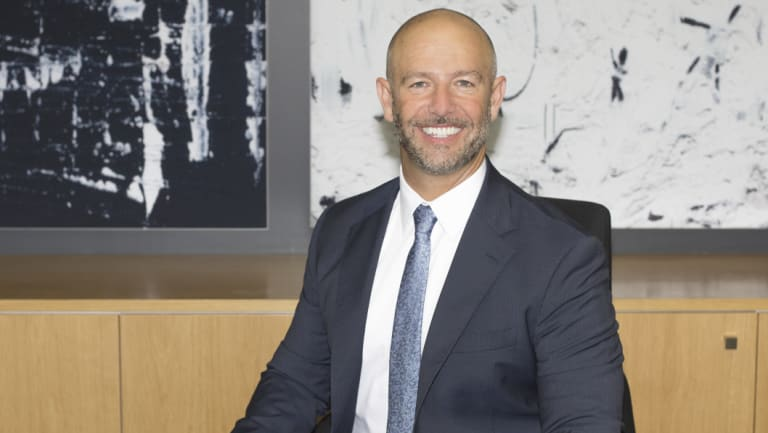 Geocon boss Nick Georgalis, who has stressed the importance of attracting foreign investment to Canberra.
