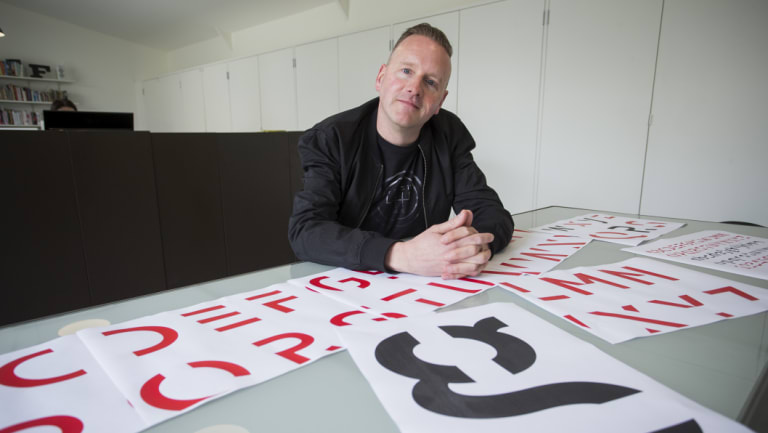 RMIT typography lecturer Stephen Banham says Sans Forgetica is a useful study tool.
