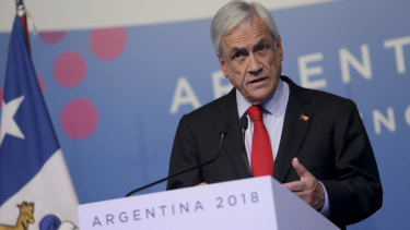 Chile's push into electric vehicles has the backing of President Sebastian Pinera and his government.