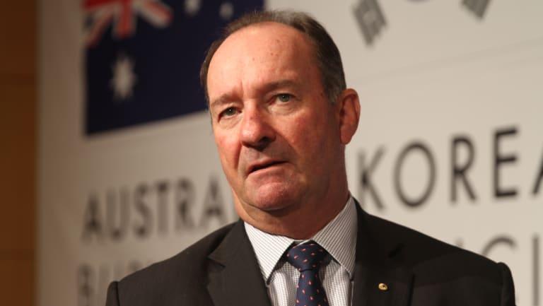 Former deputy prime minister Mark Vaile.