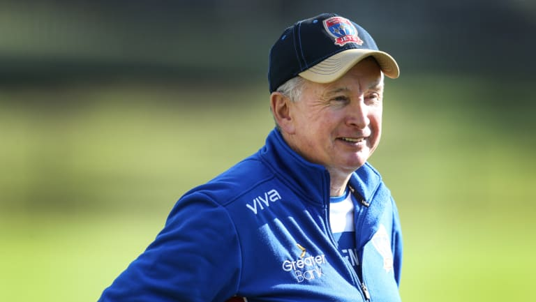 Excited: Newcastle Jets coach Ernie Merrick is looking forward to his new signing's arrival.