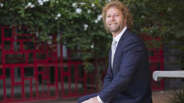 Associate Professor Bruce Shadbolt, from the ANU Research School of Finance