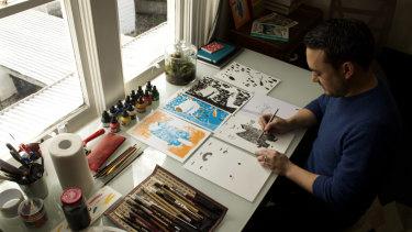 Illustrator Daniel Gray-Barnett turned his Instagram post into his debut children's picture book, Grandma Z.