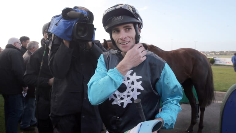 On target: Jockey Jamie Mott is looking to take the next step up to group 1 level.