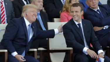 Trump decided he wanted a military parade in Washington after he attended France's Bastille Day celebration in the centre of Paris in 2017.