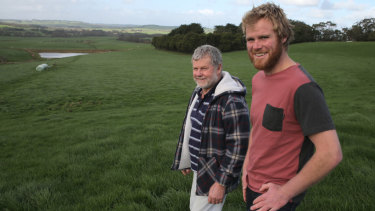 Ross and Andrew were prominent figures in the local dairy farming industry and life-long life saving club members.