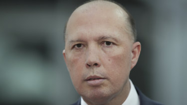 Home Affairs Minister Peter Dutton won't say why he used his ministerial discretion to grant a visa to an au pair, whose eVisitor visa was cancelled at Brisbane Airport in 2015.