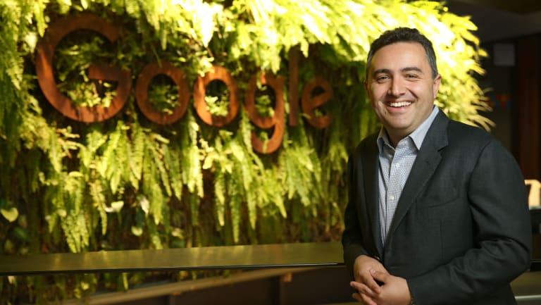 Google Australia and New Zealand managing director Jason Pellegrino