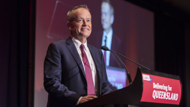 Mr Shorten promised all of Queensland, particularly regional areas, would be looked after by a Labor government.