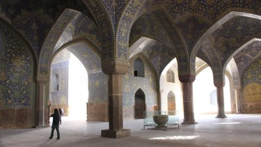 Shah Mosque in Isfahan, Iran.