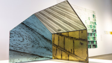 Jeremy Lepisto, 'Structure 2' (from the Aspect Series), 2018, kiln formed glass and fabricated glass.