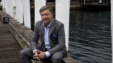 Port of Brisbane chief executive Roy Cummins.