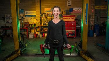 Jillian Edwards is the co-owner of garage Braeside Automotives.