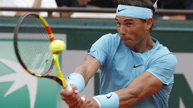 Sitting out: Rafa Nadal.