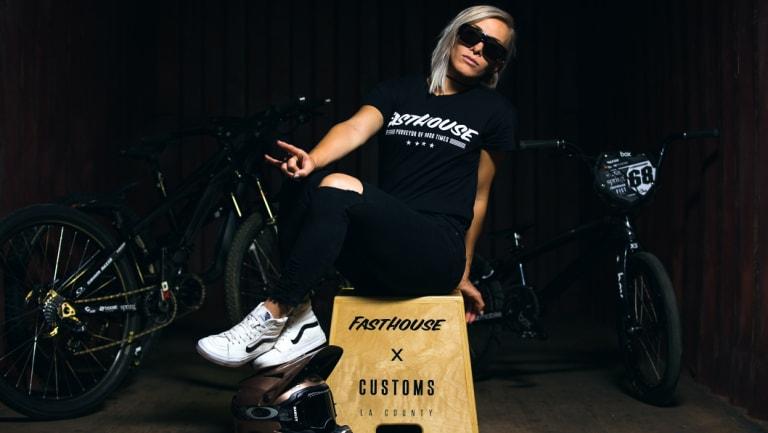 Canberra BMX queen Caroline Buchanan is getting back on the bike on Thursday.