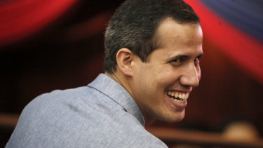 Venezuela's self proclaimed president Juan Guaido.