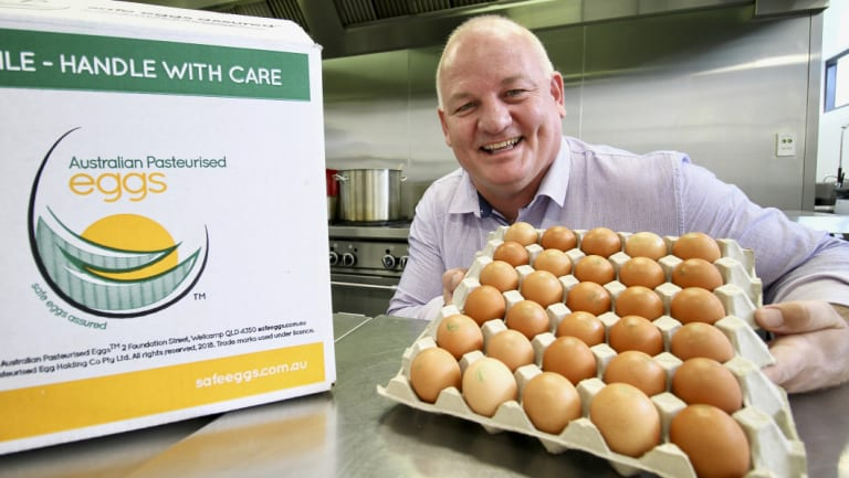Australian Pasteurised Eggs is targeting the aged care market.