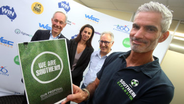 Rejected: Craig Foster's Southern Expansion A-League bid was unsuccessful.
