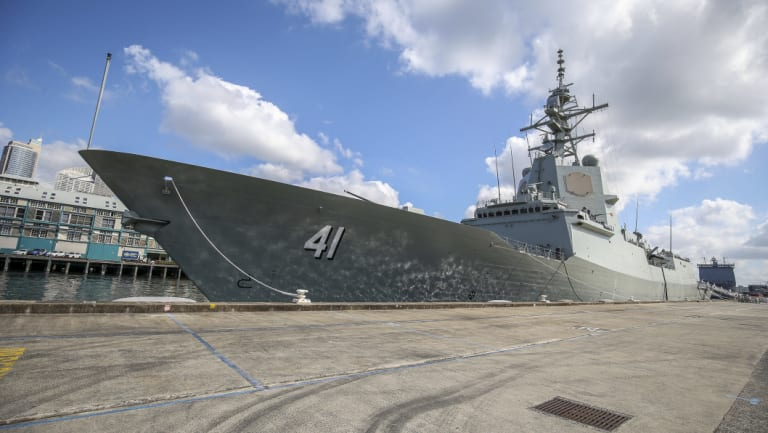 Safety fears raised about Australia's latest $3b warships