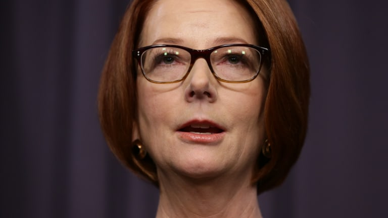 Julia Gillard was able to hold together a minority government.