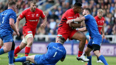 Deja vu: Will Skelton's Saracens defeated Leinster 20-10 in the European Champions Cup final.